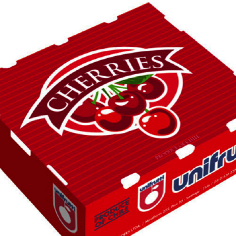 Caja Cherries Unifrutti Flexo